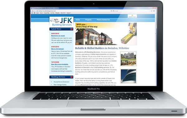 JFK Building Services on a Macbook Pro